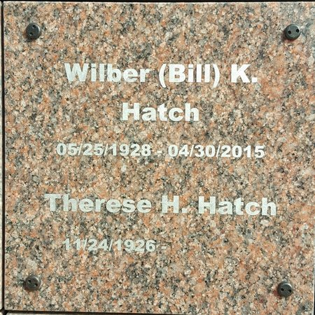 HATCH, WILBER (BILL) . - Forsyth County, North Carolina | WILBER (BILL) . HATCH - North Carolina Gravestone Photos