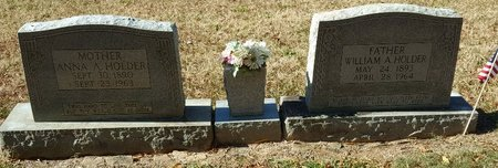 HOLDER, ANNA A. - Forsyth County, North Carolina | ANNA A. HOLDER - North Carolina Gravestone Photos