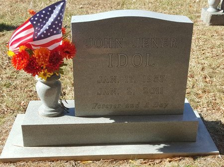 IDOL, JOHN JENNER - Forsyth County, North Carolina | JOHN JENNER IDOL - North Carolina Gravestone Photos
