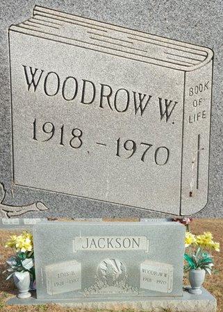 JACKSON, WOODROW WILSON - Forsyth County, North Carolina   WOODROW WILSON JACKSON - North Carolina Gravestone Photos