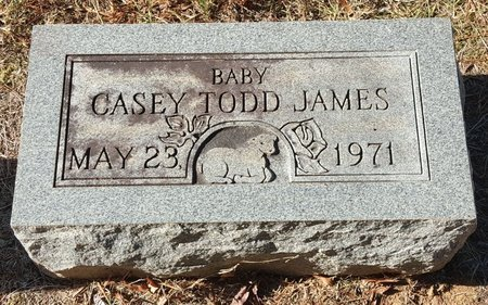 JAMES, CASEY TODD - Forsyth County, North Carolina | CASEY TODD JAMES - North Carolina Gravestone Photos