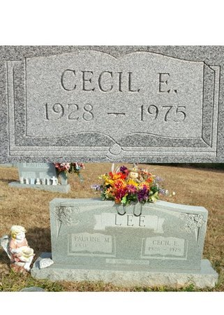 LEE, CECIL EDWARD - Forsyth County, North Carolina   CECIL EDWARD LEE - North Carolina Gravestone Photos