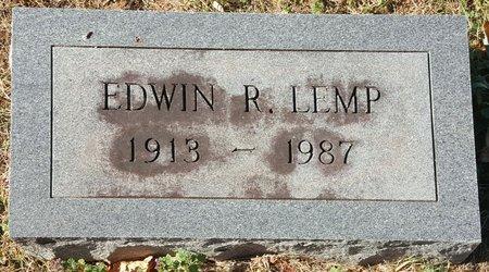 LEMP, EDWIN R. - Forsyth County, North Carolina   EDWIN R. LEMP - North Carolina Gravestone Photos