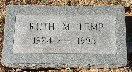 LEMP, RUTH M. - Forsyth County, North Carolina   RUTH M. LEMP - North Carolina Gravestone Photos