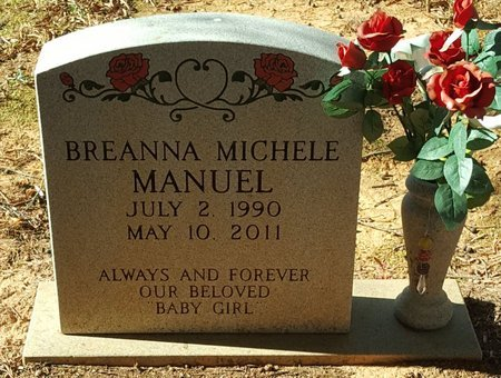 MANUEL, BREANNA MICHELE - Forsyth County, North Carolina | BREANNA MICHELE MANUEL - North Carolina Gravestone Photos
