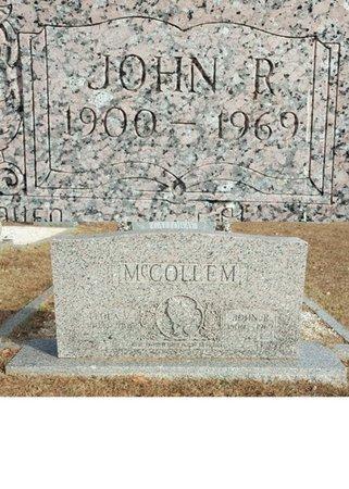 MCCOLLEM, JOHN ROBERT - Forsyth County, North Carolina | JOHN ROBERT MCCOLLEM - North Carolina Gravestone Photos