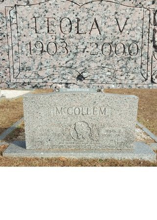 MCCOLLEM, LEOLA VESTAL - Forsyth County, North Carolina | LEOLA VESTAL MCCOLLEM - North Carolina Gravestone Photos
