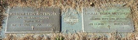 VADEN MOTSINGER, LUCILE - Forsyth County, North Carolina | LUCILE VADEN MOTSINGER - North Carolina Gravestone Photos