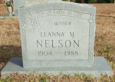 NELSON, LEANNA MANUEL - Forsyth County, North Carolina | LEANNA MANUEL NELSON - North Carolina Gravestone Photos
