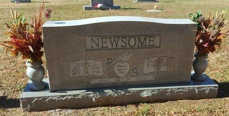 NEWSOME, JERRY L - Forsyth County, North Carolina | JERRY L NEWSOME - North Carolina Gravestone Photos