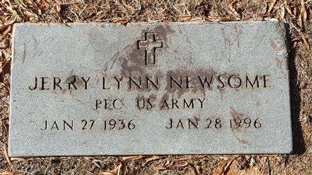 NEWSOME, JERRY LYNN - Forsyth County, North Carolina   JERRY LYNN NEWSOME - North Carolina Gravestone Photos
