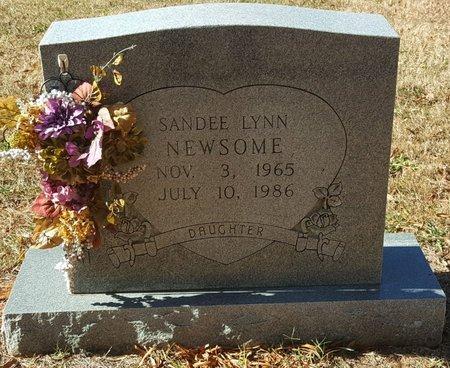 NEWSOME, SANDEE LYNN - Forsyth County, North Carolina | SANDEE LYNN NEWSOME - North Carolina Gravestone Photos