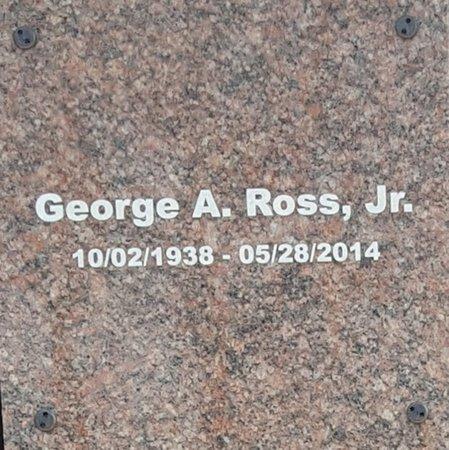 ROSS, JR., GEORGE A. - Forsyth County, North Carolina | GEORGE A. ROSS, JR. - North Carolina Gravestone Photos