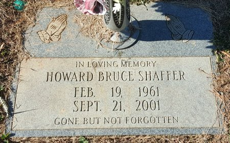 SHAFFER, HOWARD BRUCE - Forsyth County, North Carolina | HOWARD BRUCE SHAFFER - North Carolina Gravestone Photos