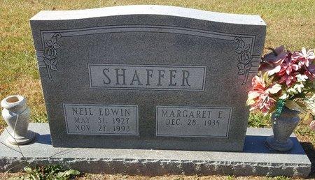 SHAFFER, NEIL EDWIN - Forsyth County, North Carolina   NEIL EDWIN SHAFFER - North Carolina Gravestone Photos