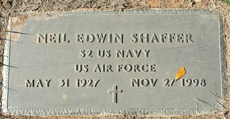 SHAFFER, NEIL EDWIN - Forsyth County, North Carolina | NEIL EDWIN SHAFFER - North Carolina Gravestone Photos