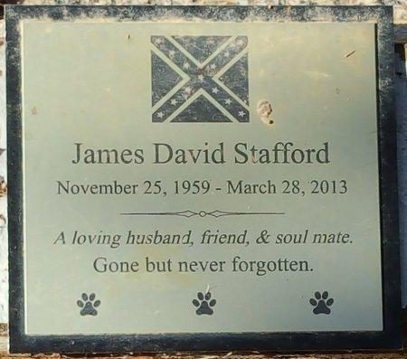 STAFFORD, JAMES DAVID - Forsyth County, North Carolina | JAMES DAVID STAFFORD - North Carolina Gravestone Photos