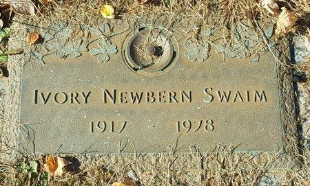 SWAIM, IVORY - Forsyth County, North Carolina | IVORY SWAIM - North Carolina Gravestone Photos