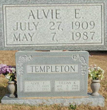 TEMPLETON, ALVIE EUGENE - Forsyth County, North Carolina   ALVIE EUGENE TEMPLETON - North Carolina Gravestone Photos