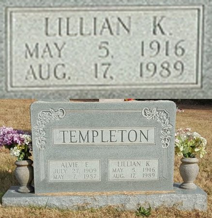 TEMPLETON, LILLIAN ODEL KEITH - Forsyth County, North Carolina | LILLIAN ODEL KEITH TEMPLETON - North Carolina Gravestone Photos