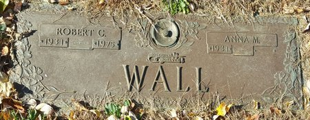 WALL, ANNA M. - Forsyth County, North Carolina | ANNA M. WALL - North Carolina Gravestone Photos