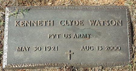 WATSON, KENNETH - Forsyth County, North Carolina | KENNETH WATSON - North Carolina Gravestone Photos