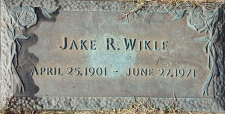 WIKLE, JAKE R. - Forsyth County, North Carolina | JAKE R. WIKLE - North Carolina Gravestone Photos