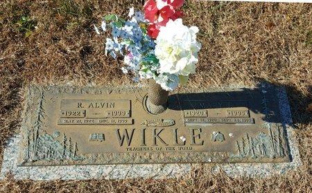 WIKLE, MARY F. - Forsyth County, North Carolina | MARY F. WIKLE - North Carolina Gravestone Photos