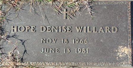 WILLARD, HOPE DENISE - Forsyth County, North Carolina | HOPE DENISE WILLARD - North Carolina Gravestone Photos