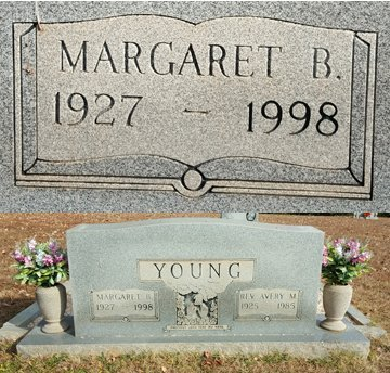YOUNG, MARGARET BROADSTREET - Forsyth County, North Carolina | MARGARET BROADSTREET YOUNG - North Carolina Gravestone Photos