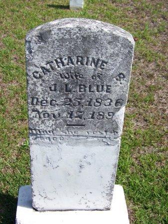BLUE, CATHARINE - Hoke County, North Carolina | CATHARINE BLUE - North Carolina Gravestone Photos