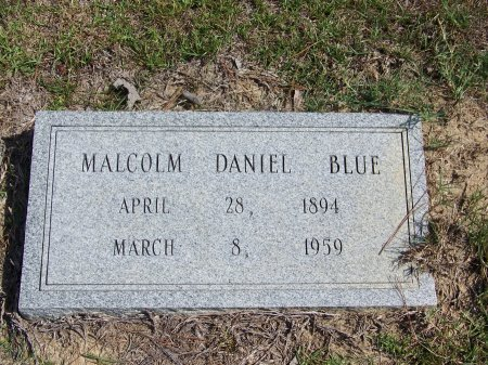 BLUE, MALCOLM DANIEL - Hoke County, North Carolina   MALCOLM DANIEL BLUE - North Carolina Gravestone Photos