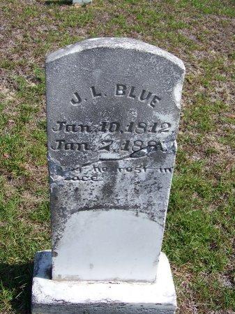BLUE, J. L. - Hoke County, North Carolina | J. L. BLUE - North Carolina Gravestone Photos