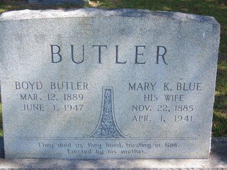 BUTLER, BOYD - Hoke County, North Carolina | BOYD BUTLER - North Carolina Gravestone Photos