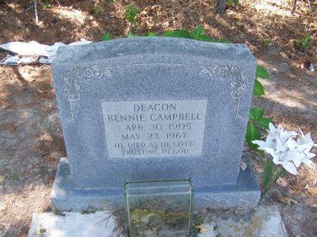 CAMPBELL, BENNIE - Hoke County, North Carolina | BENNIE CAMPBELL - North Carolina Gravestone Photos