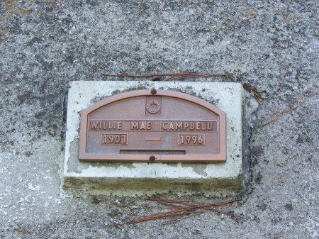 CAMPBELL, WILLIE MAE - Hoke County, North Carolina | WILLIE MAE CAMPBELL - North Carolina Gravestone Photos