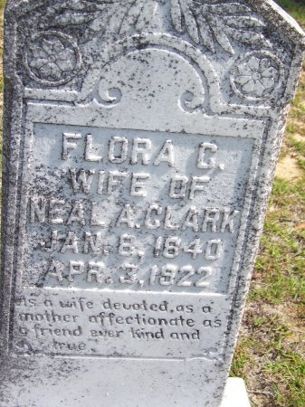 CLARK, FLORA G. - Hoke County, North Carolina   FLORA G. CLARK - North Carolina Gravestone Photos