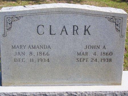 CLARK, MARY AMANDA - Hoke County, North Carolina | MARY AMANDA CLARK - North Carolina Gravestone Photos