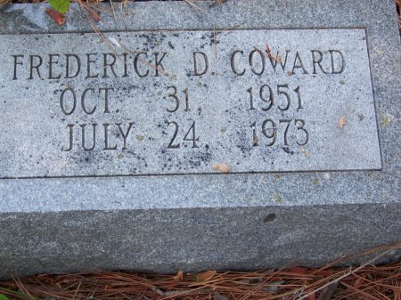 COWARD, FREDERICK D. - Hoke County, North Carolina | FREDERICK D. COWARD - North Carolina Gravestone Photos