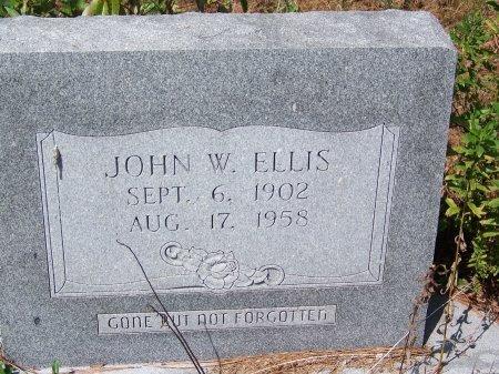 ELLIS, JOHN W. - Hoke County, North Carolina | JOHN W. ELLIS - North Carolina Gravestone Photos