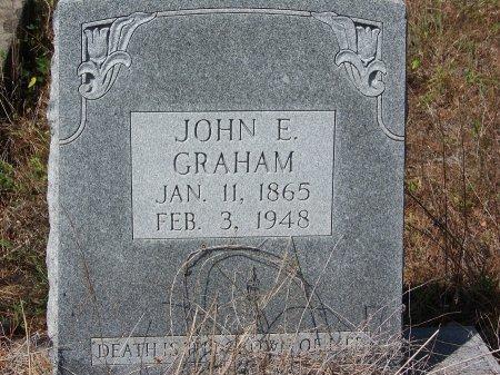 GRAHAM, JOHN E. - Hoke County, North Carolina | JOHN E. GRAHAM - North Carolina Gravestone Photos