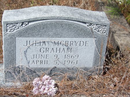 MCBRYDE GRAHAM, JULIA - Hoke County, North Carolina | JULIA MCBRYDE GRAHAM - North Carolina Gravestone Photos