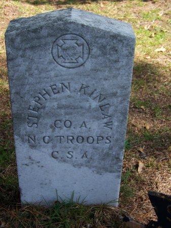 KINLAW (VETERAN CSA), STEPHEN - Hoke County, North Carolina | STEPHEN KINLAW (VETERAN CSA) - North Carolina Gravestone Photos