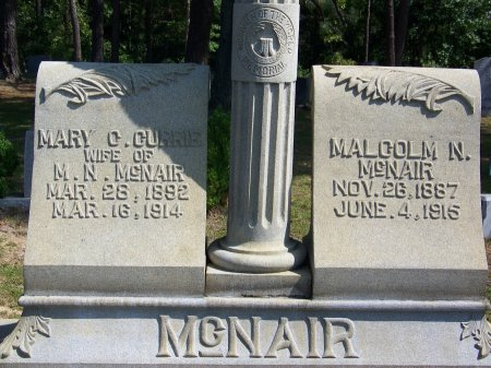 CURRIE MCNAIR, MARY C. - Hoke County, North Carolina | MARY C. CURRIE MCNAIR - North Carolina Gravestone Photos