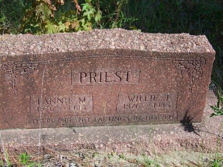 PRIEST, WILLIE J. - Hoke County, North Carolina   WILLIE J. PRIEST - North Carolina Gravestone Photos