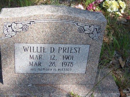 PRIEST, WILLIE D. - Hoke County, North Carolina | WILLIE D. PRIEST - North Carolina Gravestone Photos