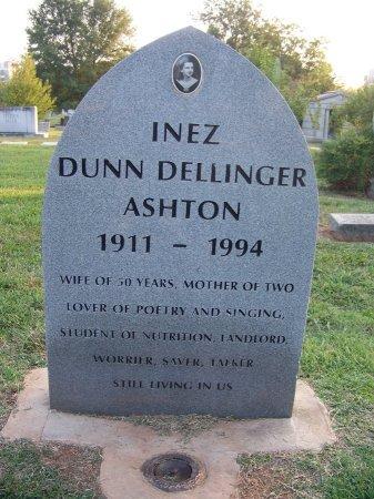 ASHTON, INEZ DUNN - Mecklenburg County, North Carolina | INEZ DUNN ASHTON - North Carolina Gravestone Photos