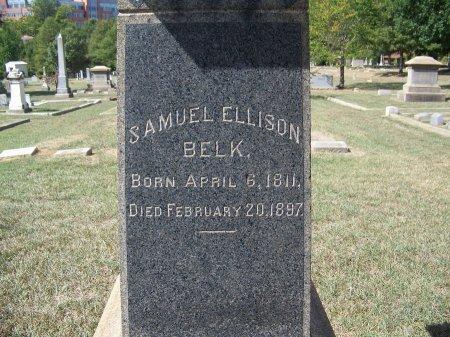BELK (VETERAN CSA), SAMUEL ELLISON - Mecklenburg County, North Carolina | SAMUEL ELLISON BELK (VETERAN CSA) - North Carolina Gravestone Photos