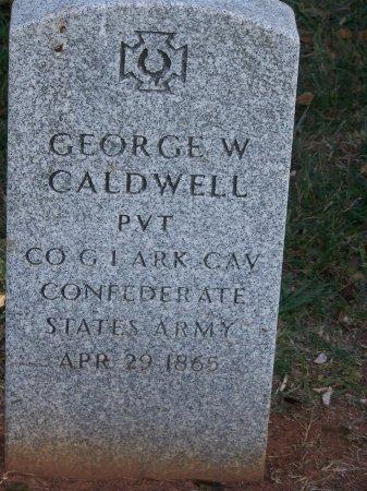 CALDWELL (VETERAN CSA), GEORGE W. - Mecklenburg County, North Carolina   GEORGE W. CALDWELL (VETERAN CSA) - North Carolina Gravestone Photos