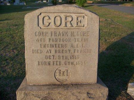 CORE (VETERAN WWI), FRANK H. - Mecklenburg County, North Carolina | FRANK H. CORE (VETERAN WWI) - North Carolina Gravestone Photos